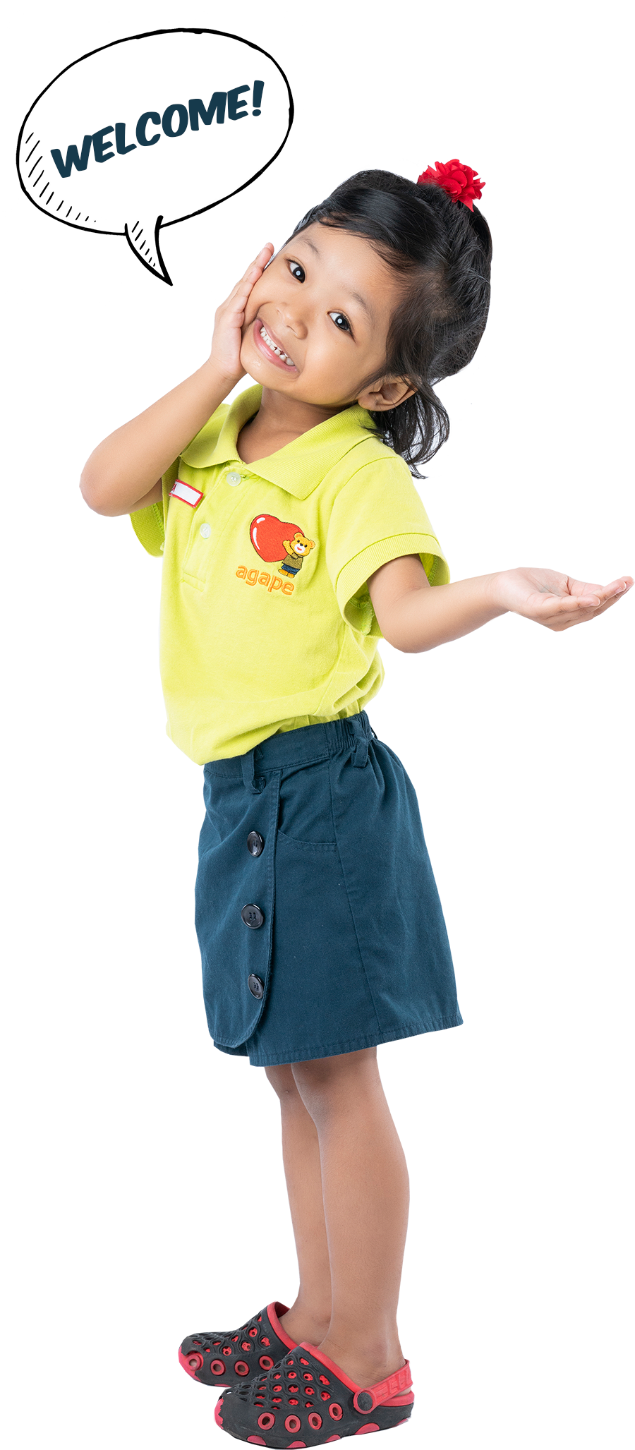 agape little uni preschool childcare girl
